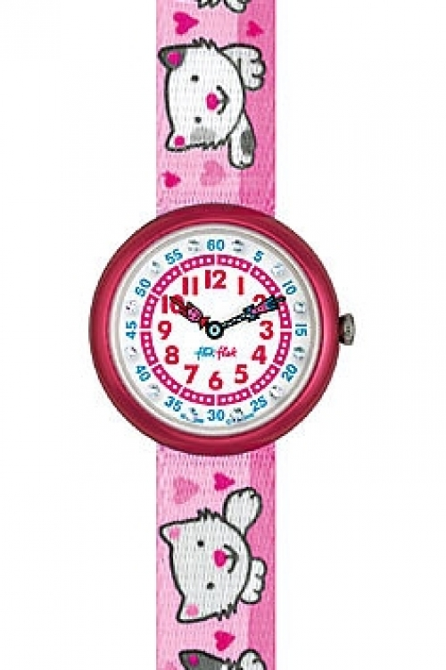 Childrens Flik Flak Baby Kittens Watch FBN042