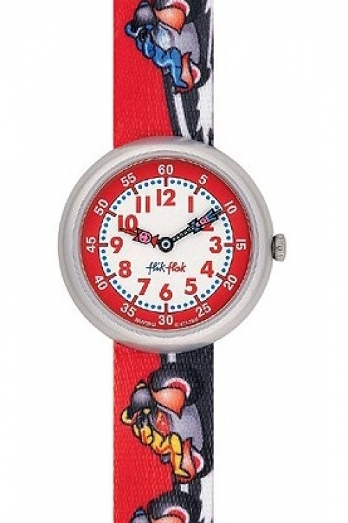 Childrens Flik Flak Riding Motors Watch FBN059