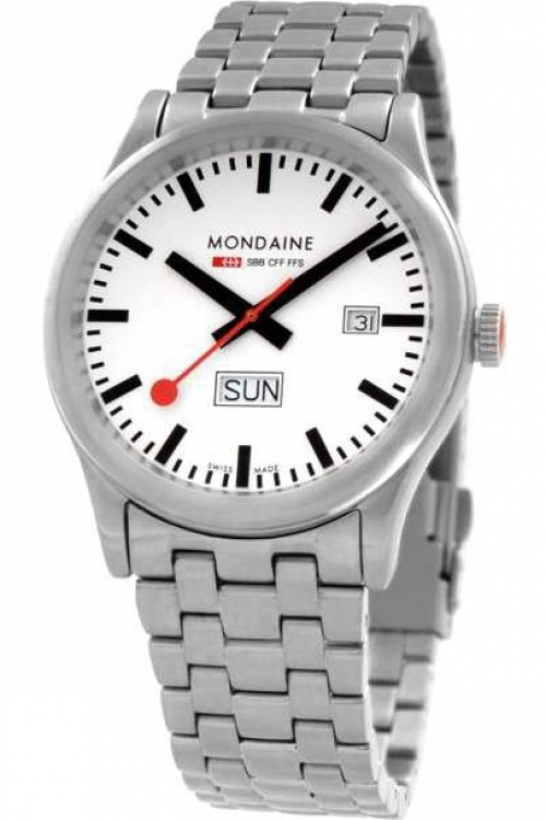 Mens Mondaine Swiss Railways Sport Watch A6673030816SBM