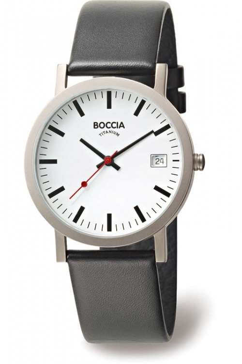Mens Boccia  Titanium Watch B3538-01