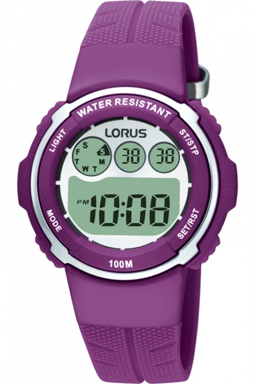 Childrens Lorus  Alarm Chronograph Watch R2379DX9