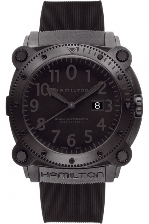 Mens Hamilton Khaki Below Zero 1000m Automatic Watch H78585333