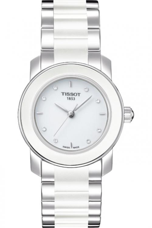 Ladies Tissot Cera Diamond Watch