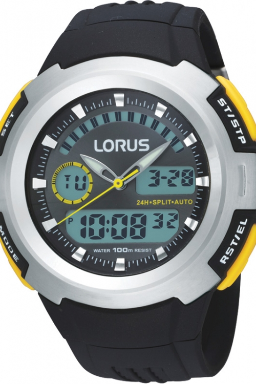 Mens Lorus Alarm Chronograph Watch R2323DX9
