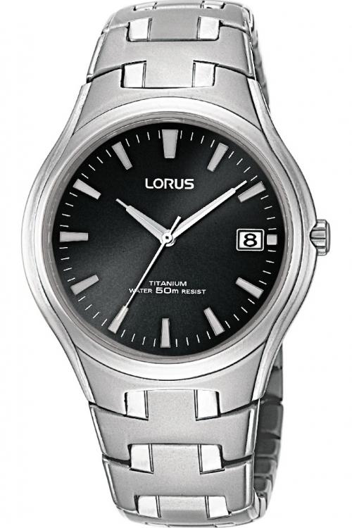 Mens Lorus Titanium Watch RXH47DX9