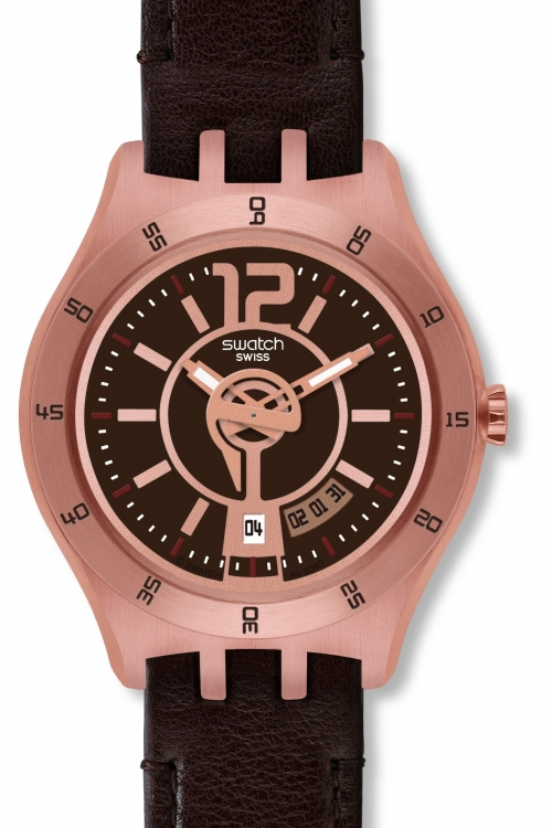 Mens Swatch In A Warm Mode Watch YTG400