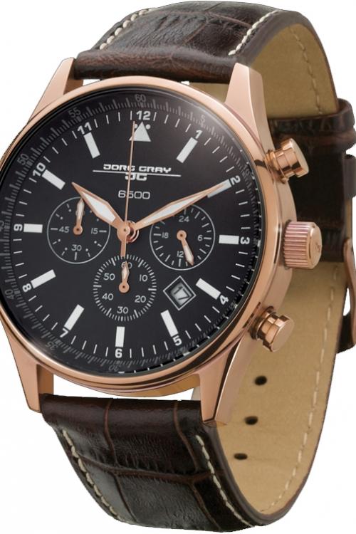 Mens Jorg Gray Chronograph Watch JG6500-51