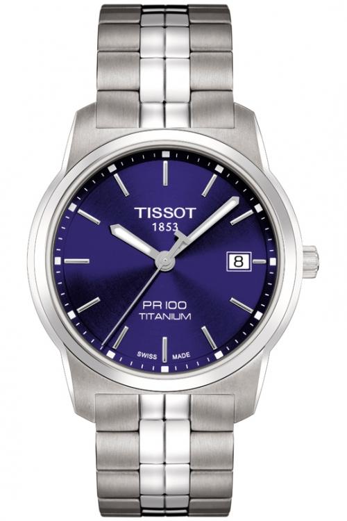 Mens Tissot PR100 Titanium Watch T0494104404100