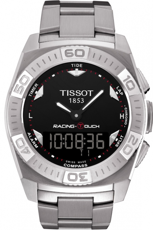 Mens Tissot Racing Touch Alarm Chronograph Watch T0025201105100