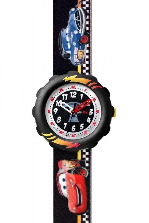 Childrens Flik Flak Disney Cars Doc Hudson Watch FLS020