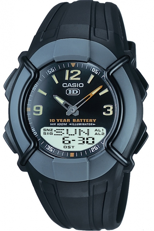 Mens Casio Heavy Duty Combination Alarm Chronograph Watch HDC-600-1BVES