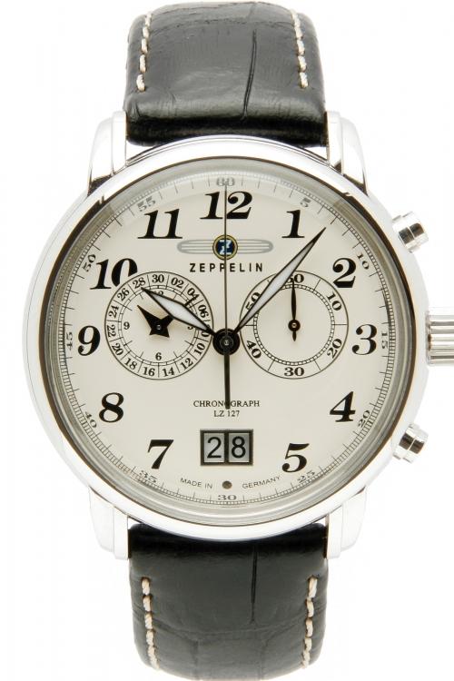 Mens Zeppelin LZ127 Chronograph Watch 7684-5
