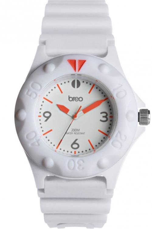 Mens Breo Pressure White Watch B-TI-PRS8