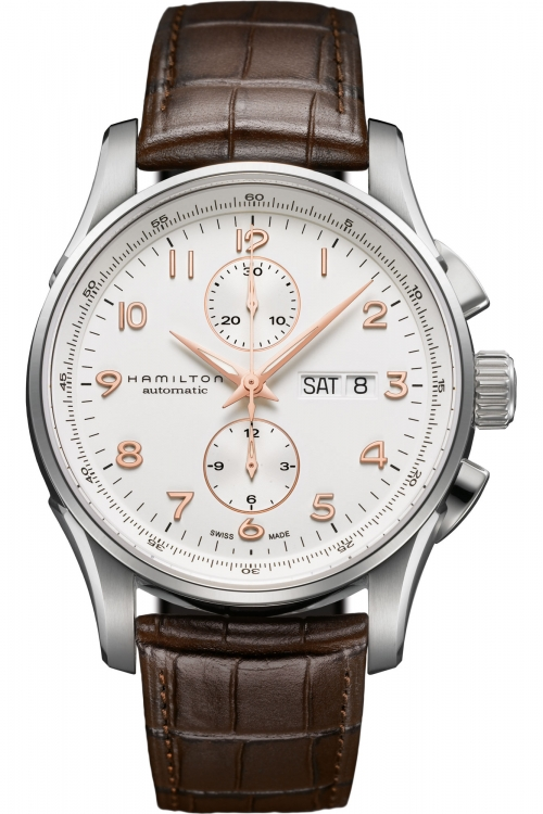 Mens Hamilton Jazzmaster Maestro Automatic Chronograph Watch H32766513
