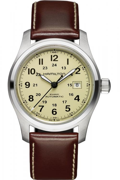 Mens Hamilton Khaki Field 42mm Automatic Watch H70555523