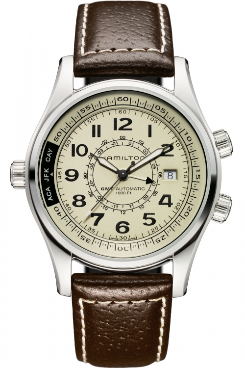 Mens Hamilton Khaki UTC Automatic Watch H77525553