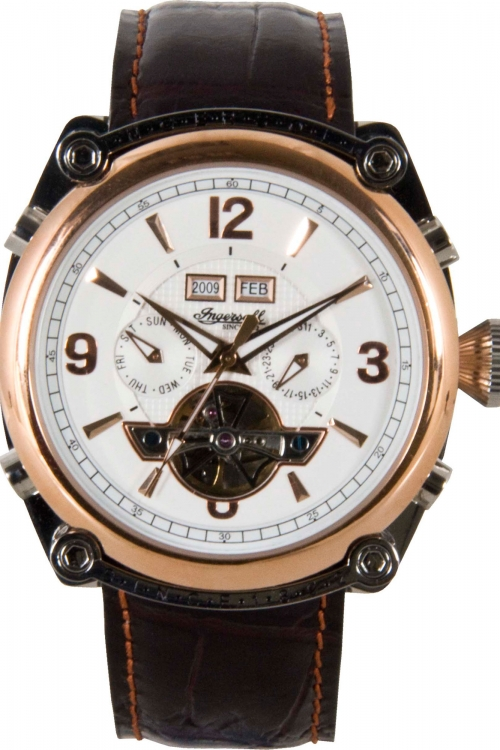 Mens Ingersoll Montgomery Automatic Watch IN4505RWH