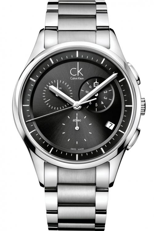 Mens Calvin Klein Basic Chronograph Watch K2A27107