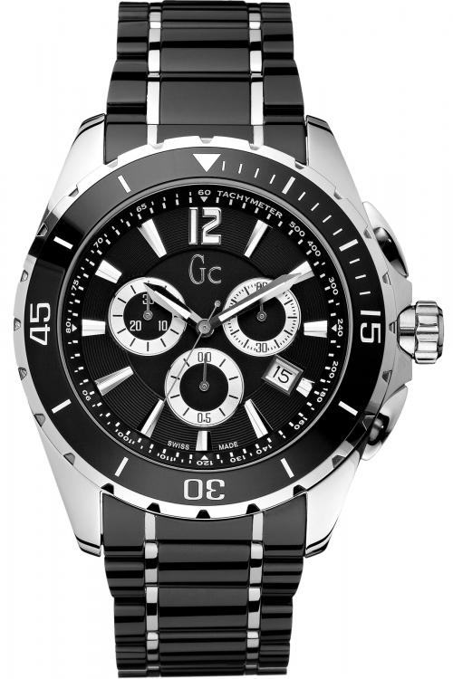 Mens Gc Sport Class XXL Ceramic Chronograph Watch X76002G2S