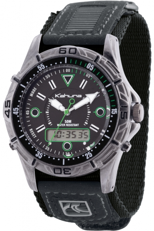 Mens Kahuna Velcro Chronograph Watch K5V-0004G