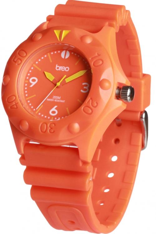 Mens Breo Pressure Orange Watch B-TI-PRS1