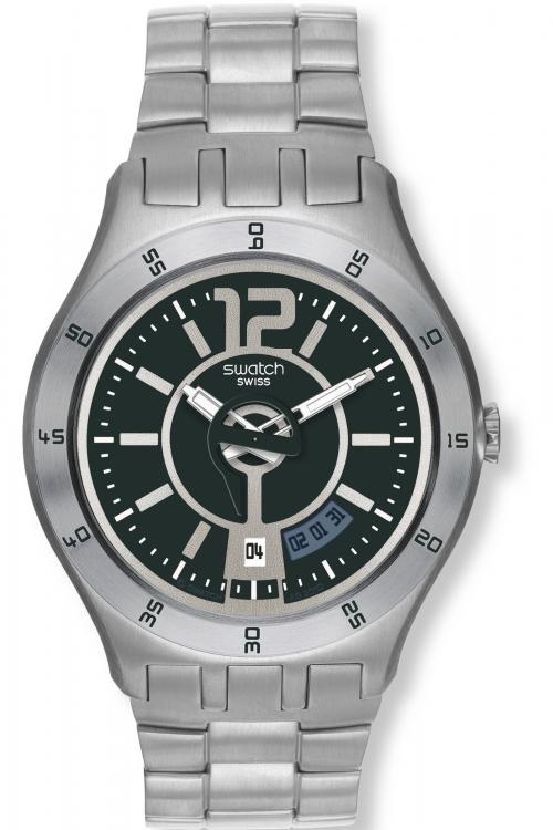 Mens Swatch In A Grayish Mode Watch YTS403G