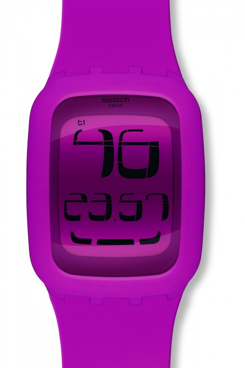 Unisex Swatch Touch Alarm Chronograph Watch SURP100
