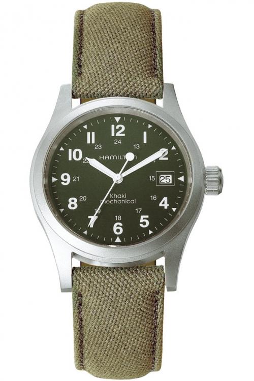 Mens Hamilton Khaki Officer Mechanical Watch H69419363