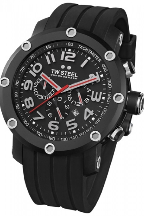 Mens TW Steel Grandeur Tech Chronograph 45mm Watch TW0134