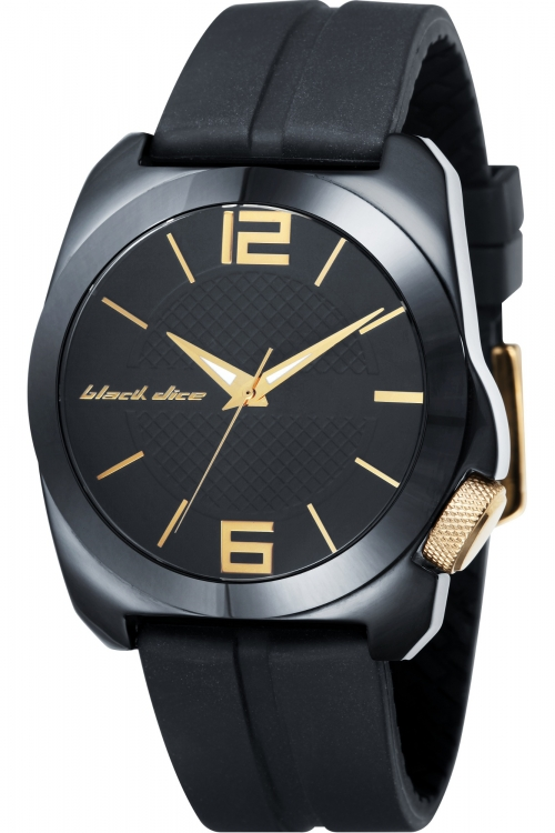 Mens Black Dice The King Ceramic Watch BD-064-02