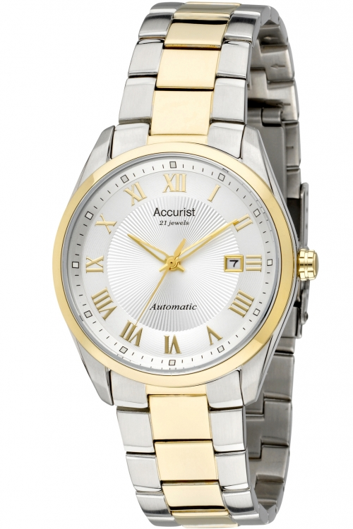 Mens Accurist Pure Precision Classic Collection Automatic Watch MB915S