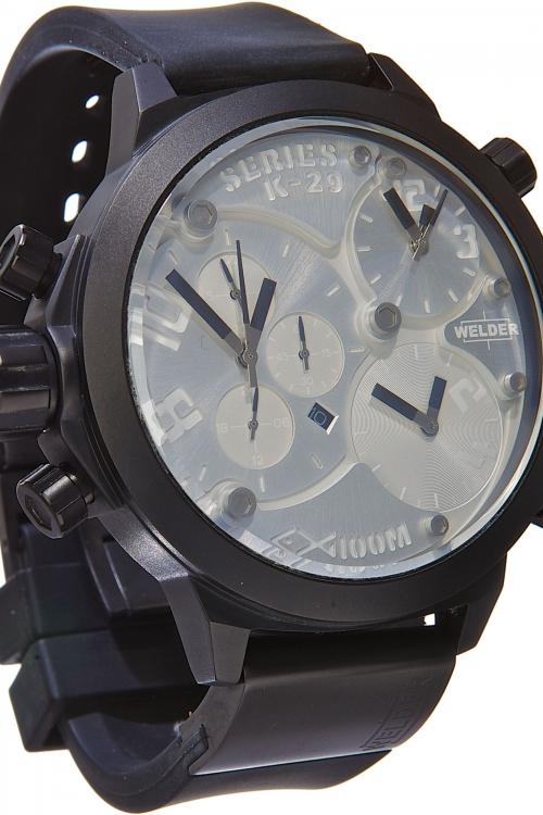 Mens Welder K29 53mm Chronograph Watch K29-8000