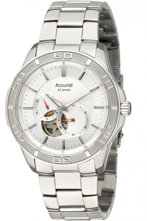 Mens Accurist Pure Precision Sport Collection Automatic Watch MB912S