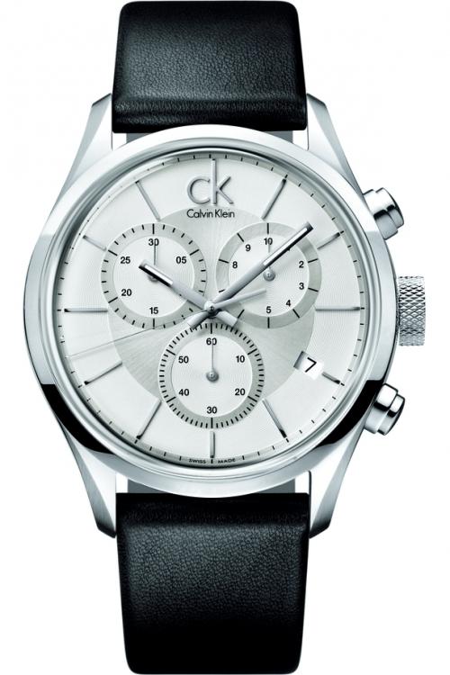 Mens Calvin Klein Masculine Chronograph Watch K2H27120