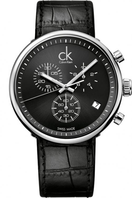 Mens Calvin Klein Substantial Chronograph Watch K2N281C1