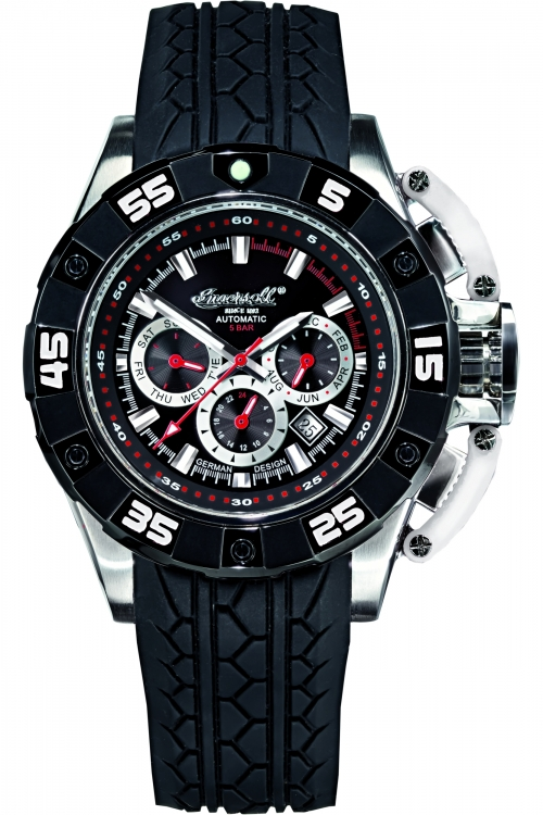 Mens Ingersoll Bison No 40 Automatic Watch IN3211BKSL