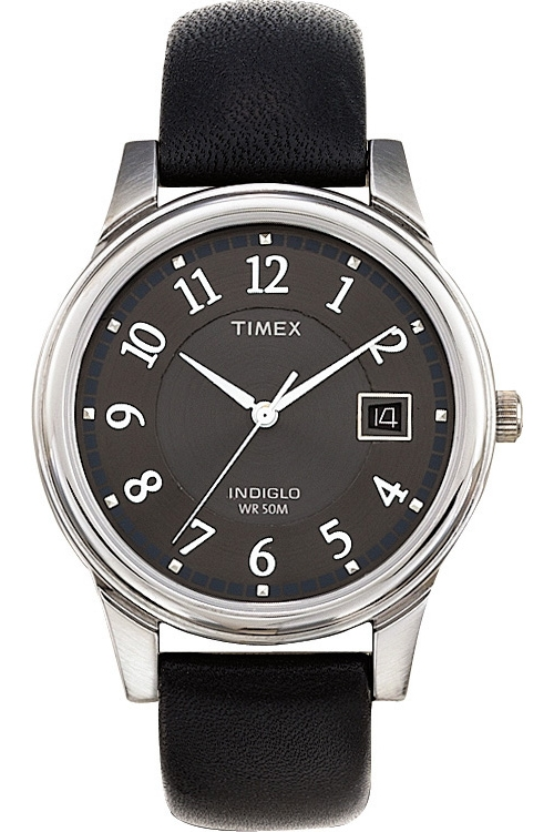 Mens Timex Indiglo Traditional Watch T29321