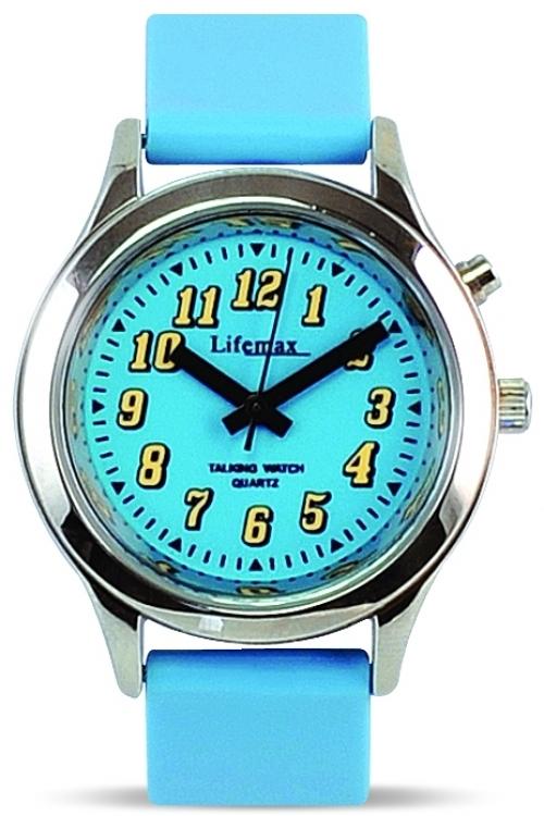 Childrens Lifemax Talking Blue Watch 431