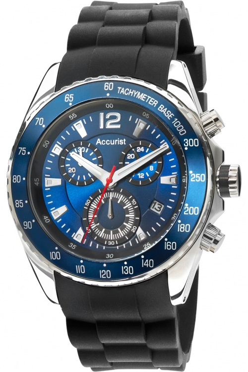 Mens Accurist Chronograph Watch MS710N