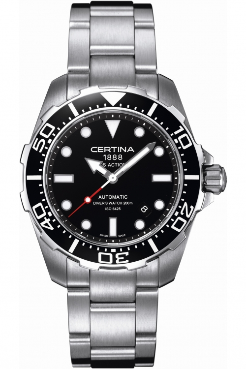 Mens Certina DS Action Diver Automatic Watch C0134071105100