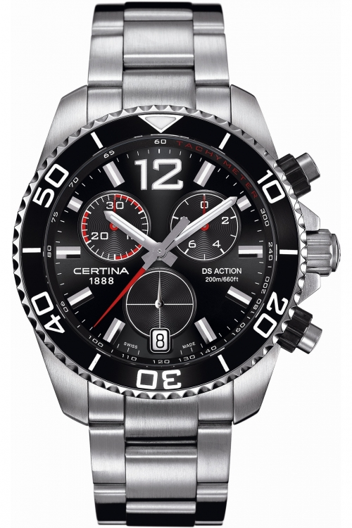 Mens Certina DS Action Chronograph Watch C0134171105700