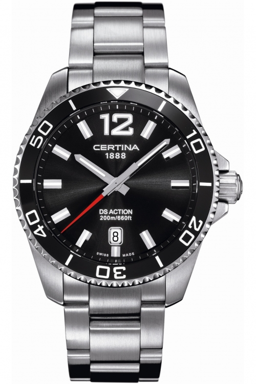 Mens Certina DS Action Diver Watch C0134101105700