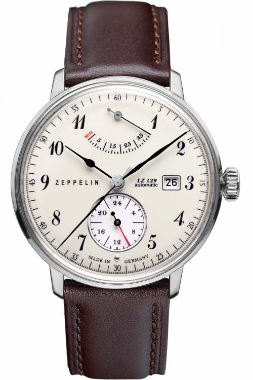 Mens Zeppelin Hindenburg Power Reserve Automatic Watch 7060-4
