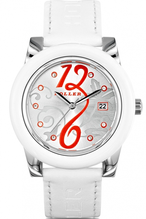 Ladies Holler Soozi White Watch