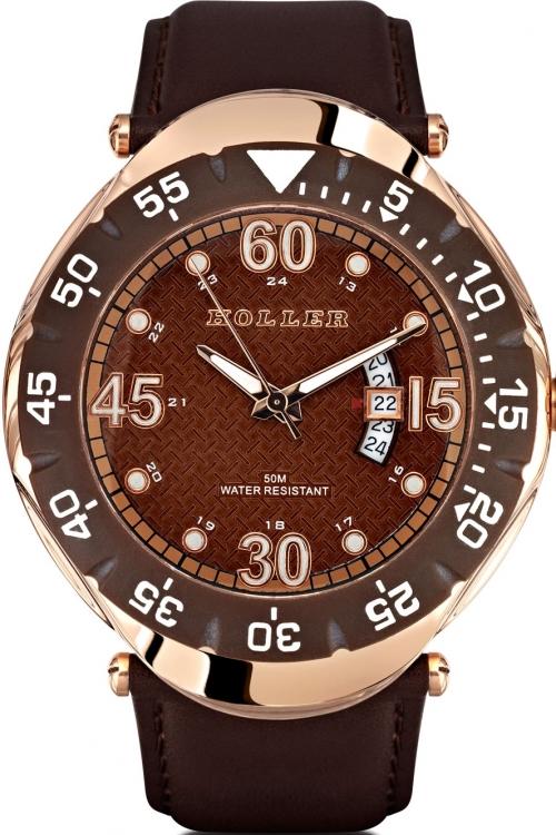 Mens Holler Goldwax Copper Watch HLW2188-1