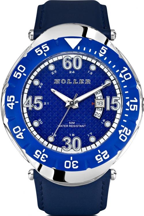 Mens Holler Goldwax Blue Watch HLW2188-5