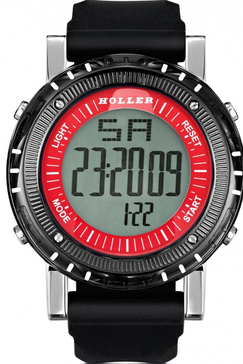Mens Holler Groovesville Red Alarm Chronograph Watch HLW2190-5