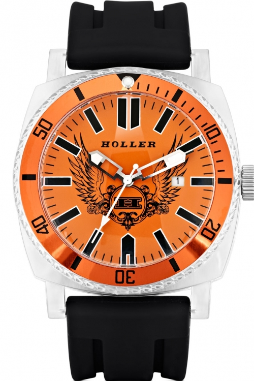 Mens Holler Chocolate City Orange Watch HLW2196-2
