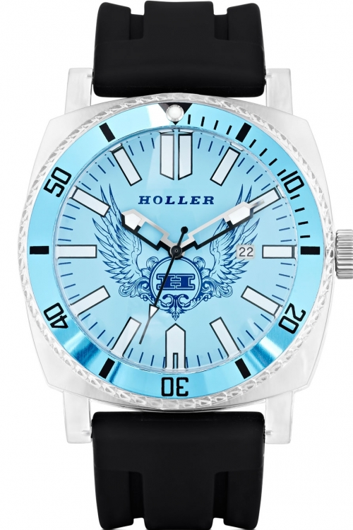 Mens Holler Chocolate City Blue Watch HLW2196-3