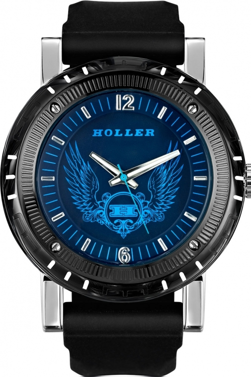 Mens Holler Black Magic Blue Watch HLW2197-2
